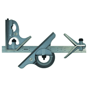 #180-906B- 12'' -16R Graduation - Regular Blade - 4 Piece Combinatioin Square Set