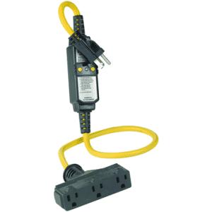 15 Amp; 120 Volt; NEMA 5-15P; Portable GFCI Device