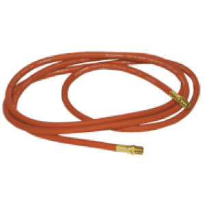 #4625 - 3/8'' ID x 25 Feet - 2 Male Fitting(s) - Air Hose with Fittings