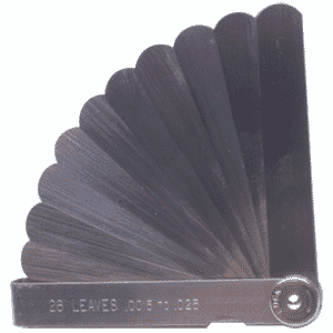 "#5013 - 13 Leaf - .0015 to .200"" Range - Thickness Gage"