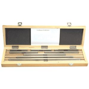 #2672LONGCT - 8 Piece - Grade AS2 - Steel - ISO 17025 Certified NIST Traceable - Rectangular Gage Block Set