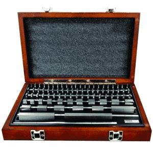 #2672066 - 81 Piece - Grade0 - Steel - Rectangular Gage Block Set