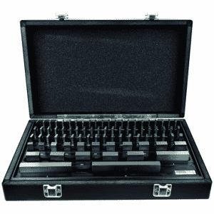 #2672065 - 81 Piece - Grade B - Steel - Rectangular Gage Block Set