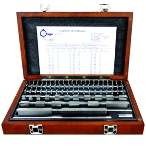 #2672065CT - 81 Piece - Grade B - Steel - ISO 17025 Certified NIST Traceable - Rectangular Gage Block Set