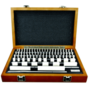 #2672CER2 - 81 Piece - Grade 2 - Ceramic - Rectangular Gage Block Set