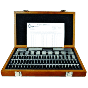 #2672SQCT - 81 Piece - Grade B - Steel - ISO 17025 Certified NIST Traceable - Square Gage Block Set