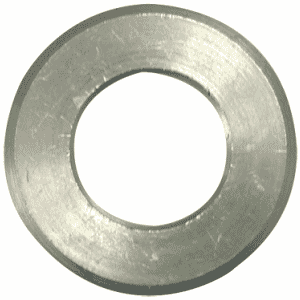 #10 Bolt Size - Plain Finish Carbon Steel - Beveled Machine Washer