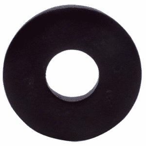 #10 Bolt Size - Black Oxide Cold Rolled Steel - Flat Washer