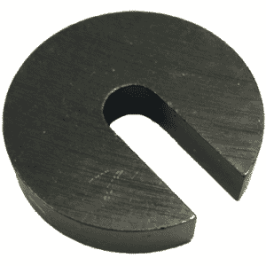 #10 & 1/4 Bolt Size - Black Oxide Carbon Steel - C Washer