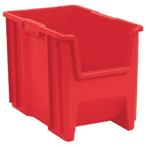 10 x 17-1/2 x 10-1/2'' - Red Stak-N-Store Bin