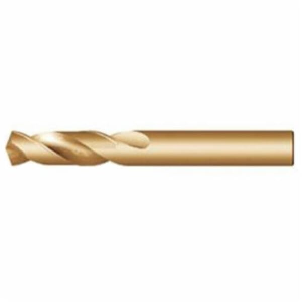 Dormer 0015056 A117 Stub Length Drill, 1 mm Drill - Metric, 0.0394 in Drill - Decimal Inch, HSS-E, Bronze redirect to product page