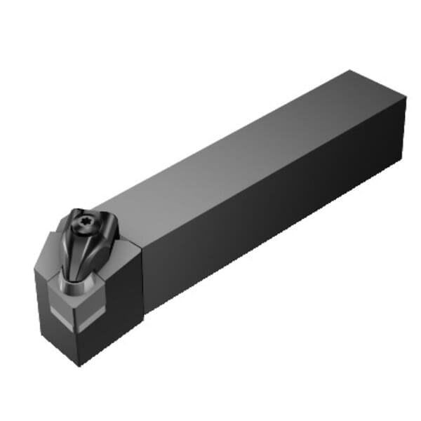Sandvik Coromant 5723207 T-Max Turning Shank Tool, ANSI Code: CCLNL 164D-4, CCLNR/L Tool Holder, CNGN 12 07 08 Insert, Left Hand Cutting, 1 in H x 1 in W Rectangle Shank, -5 deg Lead Angle, -6 deg Rake, 6 in OAL redirect to product page