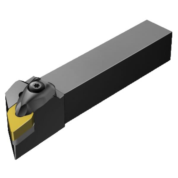 Sandvik Coromant 5724316 T-Max Turning Shank Tool, ANSI Code: CDJNR 3225P 15-4, CDJNR/L Tool Holder, DNGN 15 07 08 Insert, Right Hand Cutting, 1.2598 in H x 0.9842 in W Rectangle Shank, -3 deg Lead Angle, -6 deg Rake, 6.6929 in OAL redirect to product page