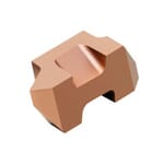 Sandvik Coromant 5954539 Top-Lok Threading Insert, ANSI Code: TLTF-2R 1125, TLTF Insert, 12 to 44 TPI TPI, Internal, External Thread, 0.024 to 0.079 in Pitch, Right Hand Cutting, Manufacturer's Grade: 1125, Material Grade: H, K, M, N, P, S