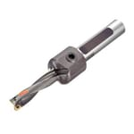 Sandvik Coromant 5962386 CoroDrill 881 Indexable Insert Drill, 0.656 in Drill, 3/4 in Modular Connection, 3/4 in Dia Shank, 4XD Drill Depth by Dia Ratio, 6.103 in OAL, 2.624 in D Max Drill