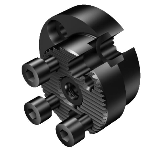 Sandvik Coromant 5962608 CoroTurn Reduction Adapter, 1.26 in Shank Connection, 0.866 in Projection