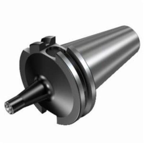 Sandvik Coromant 6048647 Modular Adapter, 0.457 in Shank Connection, ISO 7388-1 x Coromant EH Shank, ISO 40 Taper, ISO40 x E12 Modular System, 2.4803 in Dia Hole, 2.362 in Projection