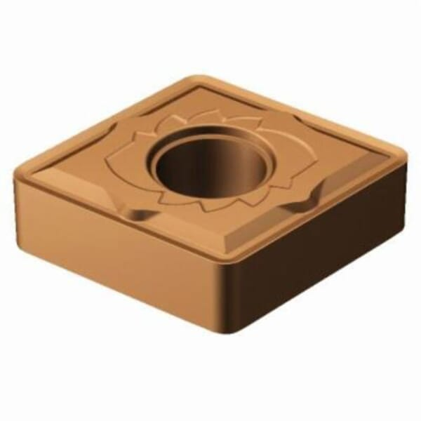 Sandvik Coromant 5915047 T-Max P Turning Insert, ANSI Code: CNMG 432-SM 1115, CNMG Insert, Material Grade: M, S, 432 Insert, Rhombic Shape, 12 Seat, Negative Rake, Neutral Cutting, For Use On Stainless Steel, Heat Resistant Super Alloys and Titanium