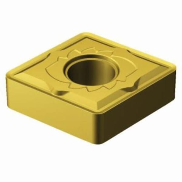 Sandvik Coromant 5966263 T-Max P Turning Insert, ANSI Code: CNMG 543-SM 2025, CNMG Insert, Material Grade: M, 543 Insert, Rhombic Shape, 16 Seat, Negative Rake, Neutral Cutting, For Use On Stainless Steel, Carbide, Manufacturer's Grade: 2025