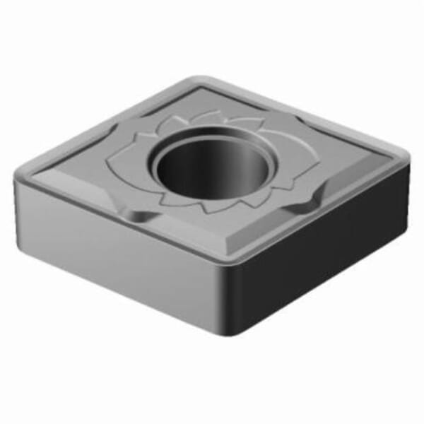 Sandvik Coromant 5915055 T-Max P Turning Insert, ANSI Code: CNMG 433-SM H13A, CNMG Insert, Material Grade: K, P, 433 Insert, Rhombic Shape, 12 Seat, Negative Rake, Neutral Cutting, For Use On Cast Iron and Steel, Carbide, Manufacturer's Grade: H13A