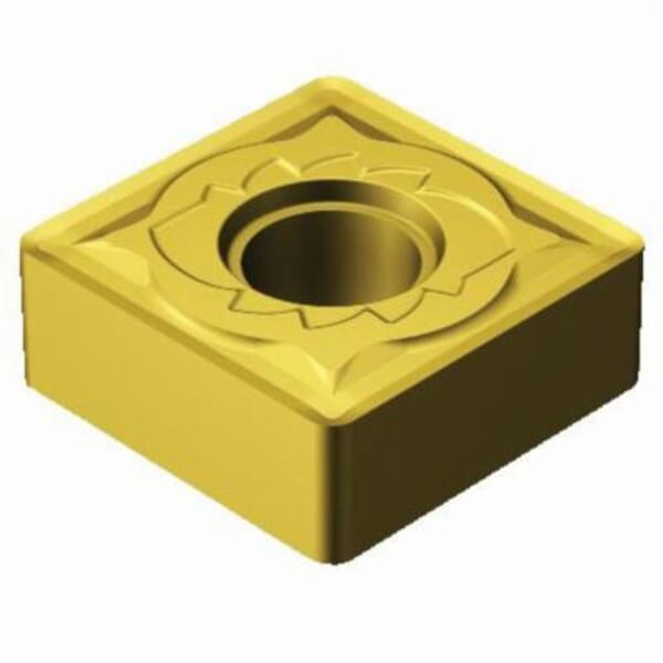 Sandvik Coromant 5966255 T-Max P Turning Insert, ANSI Code: SNMG644-SMR 2025, SNMG Insert, Material Grade: M, 644 Insert, Squared Shape, 19 Seat, Negative Rake, Neutral Cutting, For Use On Stainless Steel, Carbide, Manufacturer's Grade: 2025