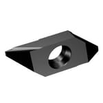 Sandvik Coromant 6071709 CoroCut XS 2-Sided Turning Insert, ANSI Code: MABL 3 020 1105, MABL Insert, Material Grade: M, S, 3020 Insert, Irregular Shape, 3 Seat, Positive Rake, Left Hand Cutting, For Use On Heat Resistant Super Alloys and Stainless Steel
