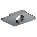 Sandvik Coromant 6071725 CoroCut XS Parting Insert, ANSI Code: MACL 3 150-L 1105, 3 MACL Insert, Material Grade: M, N, P, S, 0.059 in W Cutting, 15 deg Lead Angle, Left Hand Lead Angle Direction, 6 deg Relief Angle, Carbide, Manufacturer's Grade: 1105