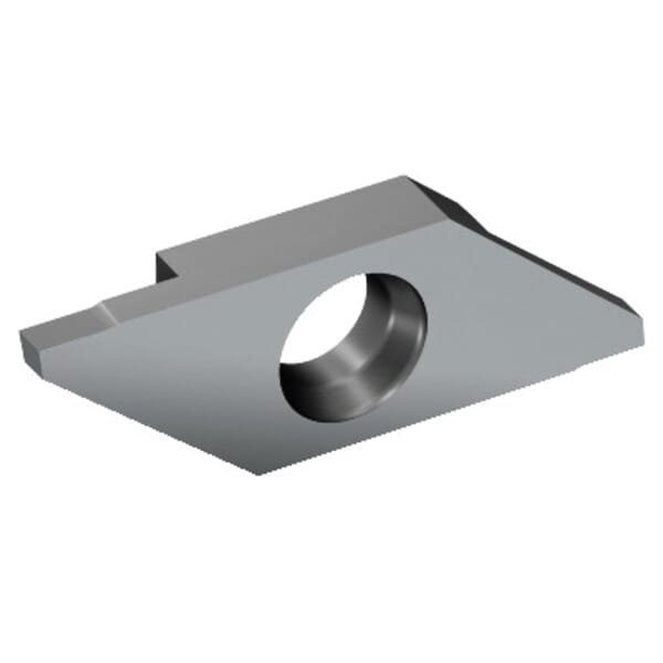 Sandvik Coromant 6071739 CoroCut XS Parting Insert, ANSI Code: MACR 3 250-T 1105, 3 MACR Insert, Material Grade: M, N, P, S, 0.098 in W Cutting, 0 deg Lead Angle, Right Hand Lead Angle Direction, 6 deg Relief Angle, Carbide, Manufacturer's Grade: 1105