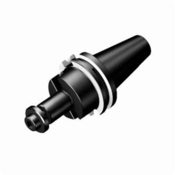 Sandvik Coromant 6074000 Adapter, 1 in Dia Hole, CAT-V x Side and Face Mill Arbor Shank, CAT-V40 Taper, 1 in Dia Nose, 2.1653 in Projection