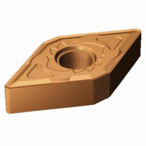 Sandvik Coromant 5915078 T-Max P Turning Insert, ANSI Code: DNMG 442-SM 1125, DNMG Insert, Material Grade: M, S, 442 Insert, Rhombic Shape, 15 Seat, Negative Rake, Neutral Cutting, For Use On Stainless Steel, Heat Resistant Super Alloys and Titanium