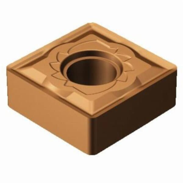 Sandvik Coromant 5915087 T-Max P Turning Insert, ANSI Code: SNMG 432-SM 1115, SNMG Insert, Material Grade: M, S, 432 Insert, Squared Shape, 12 Seat, Negative Rake, Neutral Cutting, For Use On Stainless Steel, Heat-Resistant Super Alloys and Titanium