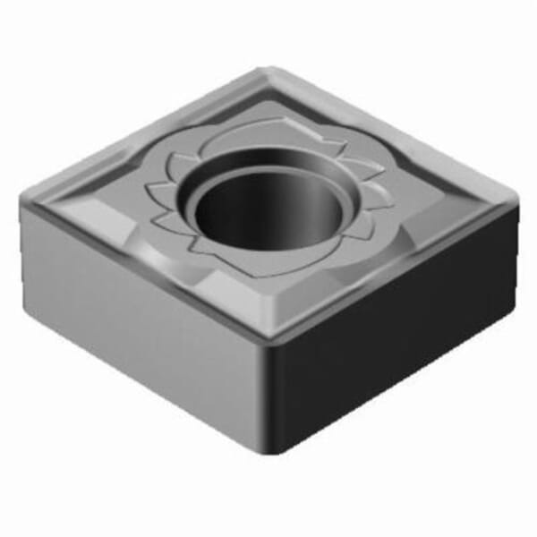 Sandvik Coromant 5915095 T-Max P Turning Insert, ANSI Code: SNMG 433-SM H13A, SNMG Insert, Material Grade: M, S, 433 Insert, Squared Shape, 12 Seat, Negative Rake, Neutral Cutting, For Use On Stainless Steel, Heat-Resistant Super Alloys and Titanium
